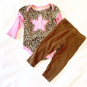 5/$25 Infant girls outfit 12 months